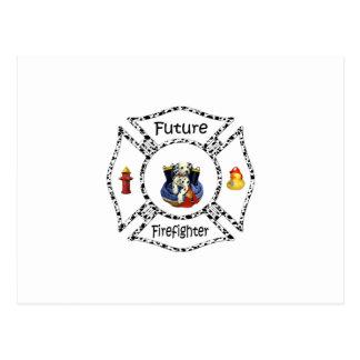 Future FF Dalmation Postcard