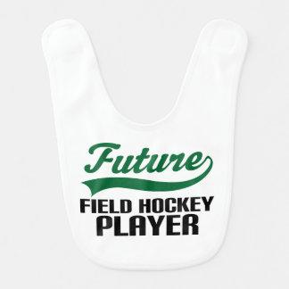 Future Field Hockey Player Baby Bib
