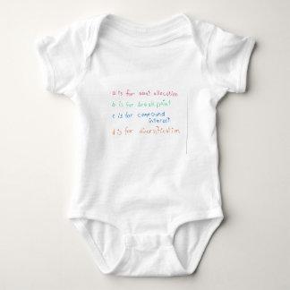 Future Financial Advisor Baby Bodysuit