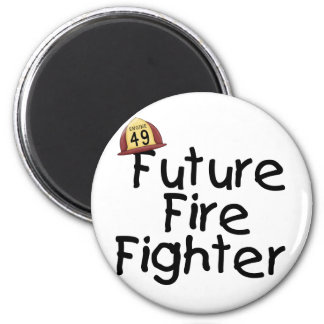 Future Fire Fighter Tshirts and Gifts 6 Cm Round Magnet