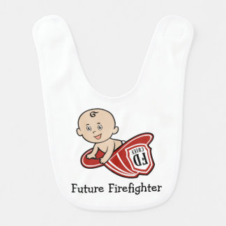 Future Firefighter Baby Bib