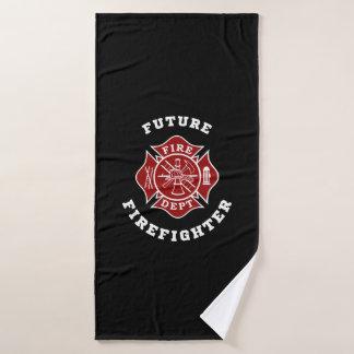 Future Firefighter Bath Towel
