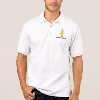 future firefighter (boy) polo t-shirt