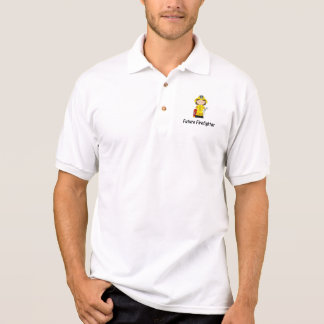 future firefighter (girl) polo shirts