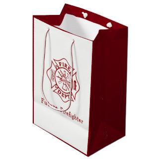 Future Firefighter Maltese Cross Gift Bag