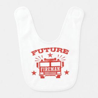 Future Fireman Bib
