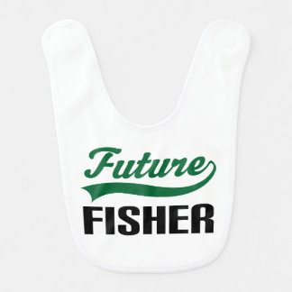 Future Fisher Baby Bib