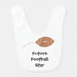 """Future Football Star"" Baby Bib"