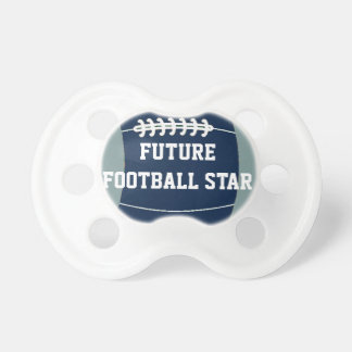 Future Football Star Baby Pacifier