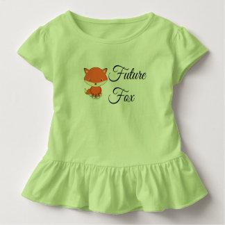 Future Fox - Toddler Ruffle Tee