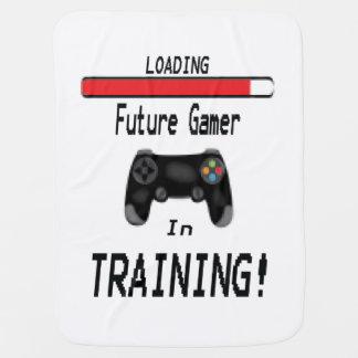 Future Gamer Design Baby Blanket