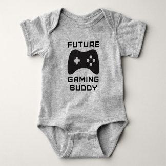 Future Gaming Buddy Baby Bodysuit
