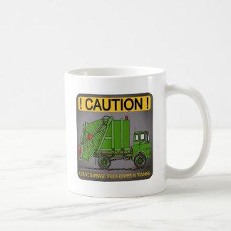 Future Garbage Truck Green Driver Coffee Mug