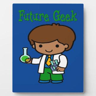 Future Geek  Dark Skin Plaque