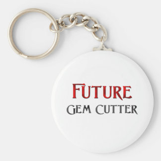 Future Gem Cutter Basic Round Button Key Ring