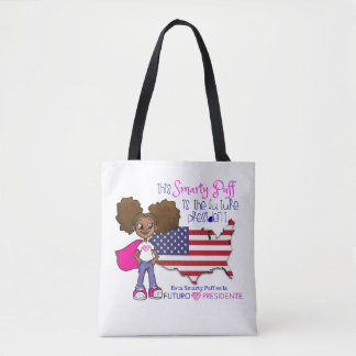 Future Girl President Bilingual Tote Bag