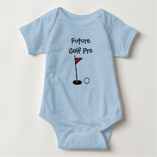 """Future Golf Pro"" Baby Bodysuit"