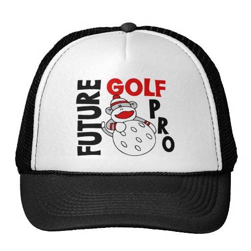 Future Golf Pro Sock Monkey Trucker Hats