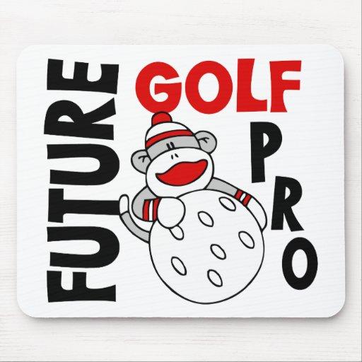 Future Golf Pro Sock Monkey Mousepad