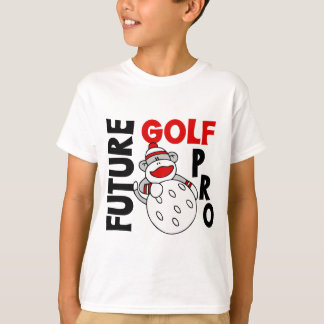 Future Golf Pro Sock Monkey Tshirt
