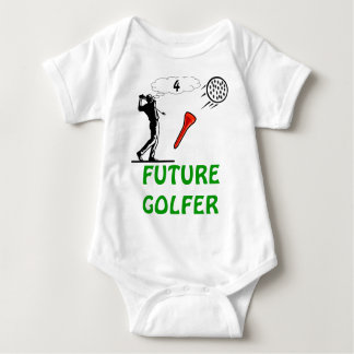 future golfer toddler t-shirt