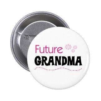 Future Grandma 6 Cm Round Badge
