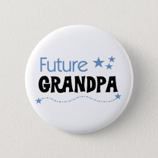 Future Grandpa 6 Cm Round Badge