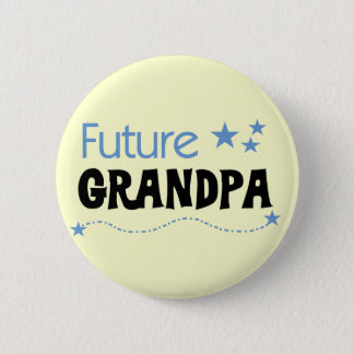 Future Grandpa Tshirts and Gifts 6 Cm Round Badge