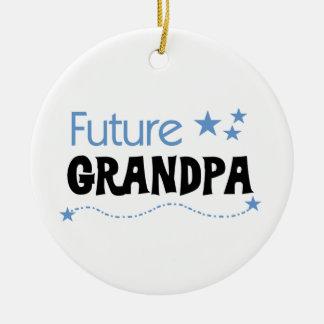 Future Grandpa Tshirts and Gifts Ceramic Ornament