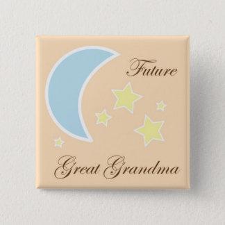 Future Great Grandma Baby shower pin