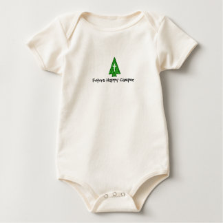 Future Happy Camper Baby Bodysuit