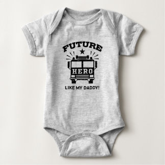 Future Hero Like My Daddy Baby Bodysuit