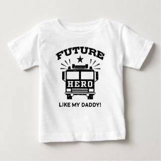 Future Hero Like My Daddy Tees
