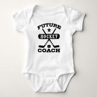 Future Hockey Coach Baby Bodysuit