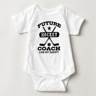 Future Hockey Coach Like My Daddy Baby Bodysuit