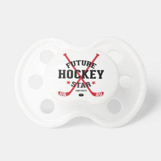 Future Hockey Star Red Hockey Sticks Infant Dummy