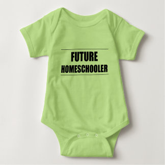 Future Homeschooler Baby Bodysuit