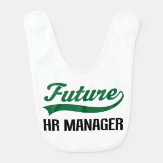 Future HR Manager Baby Bib
