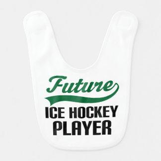 Future Ice Hockey Player Baby Bib
