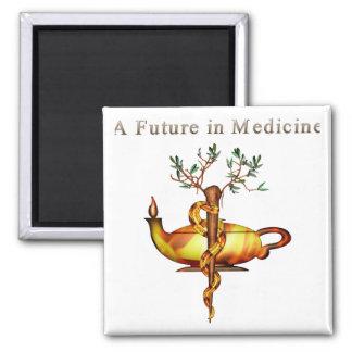 Future in Medicine Refrigerator Magnet