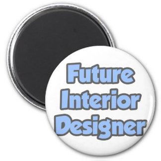 Future Interior Designer Fridge Magnet