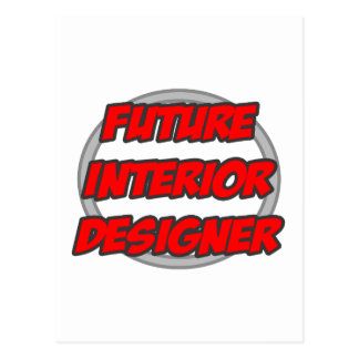 Future Interior Designer Postcard