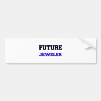 Future Jeweler Bumper Sticker
