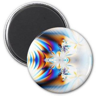 Future Jewels 6 Cm Round Magnet