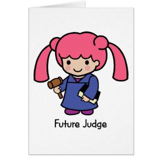 Future Judge - Girl Card