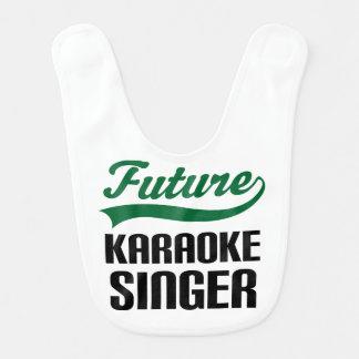 Future Karaoke Singer Baby Bib