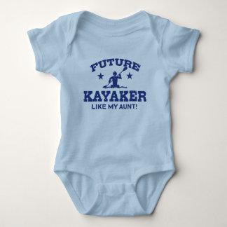 Future Kayaker Like My Aunt Baby Bodysuit