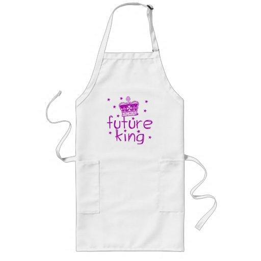 Future King Cute Royalty Tshirt Apron