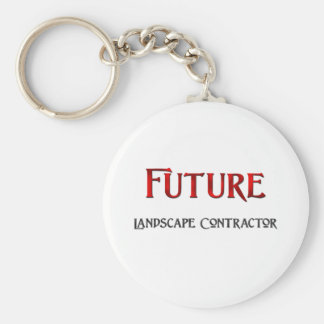 Future Landscape Contractor Keychains