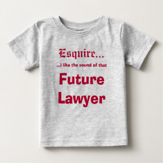Future Lawyer Baby T-Shirt